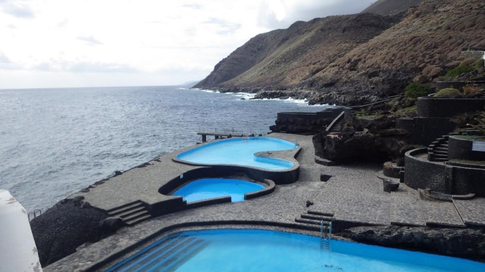 @ El Hierro: Wunderbare Meerwasser Schwimmbecken und nix los....