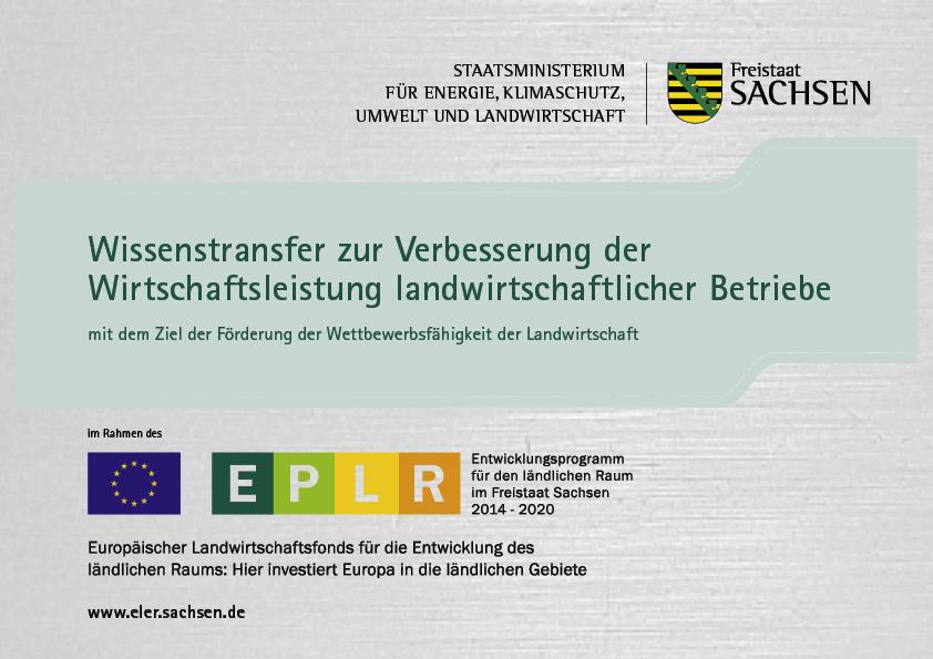 Vorhaben: Ausbau und Stärkung der regionalen Vermarktung durch Kooperation - Workshopreihe für Führungskräfte sächsischer Direktvermarkter