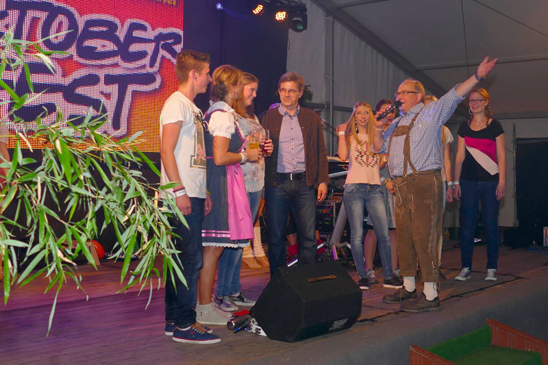 Party-Express-Band am Freitag Abend