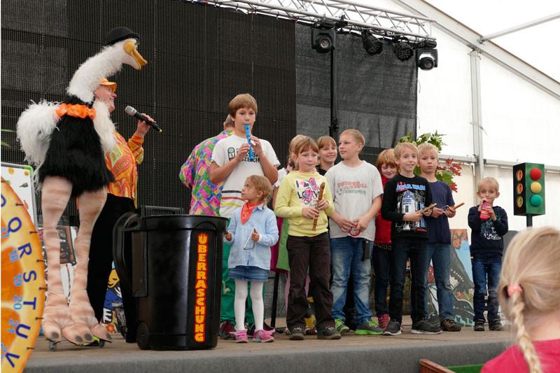 Kinderfest am Samstag Mittag