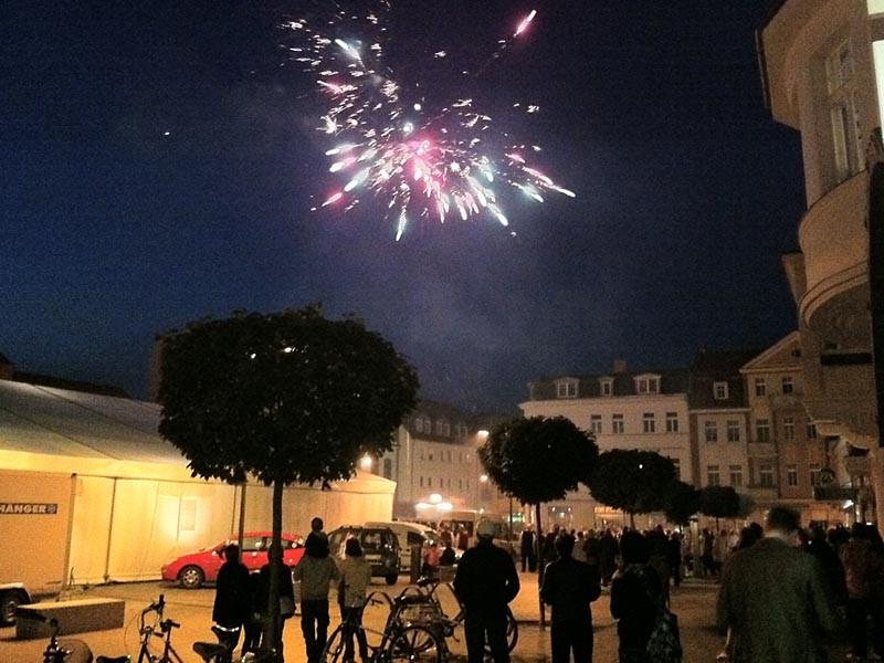 Der HerbstKracher 2010 startet mit einem Feuerwerk