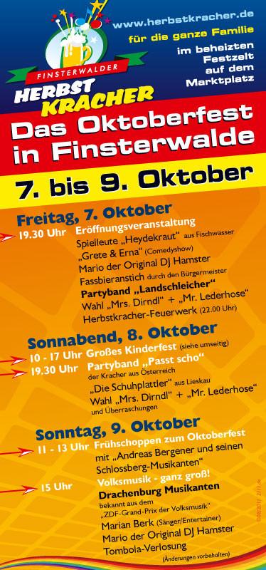Veranstaltungs-Flyer 2011 - Das Programm
