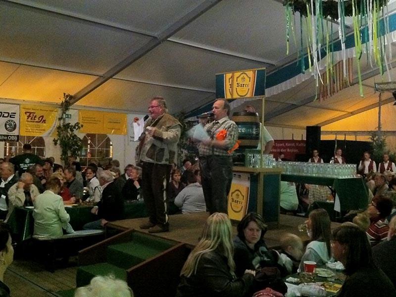 DJ Hamster und der Festwirt Klaus-Dieter Umlauf