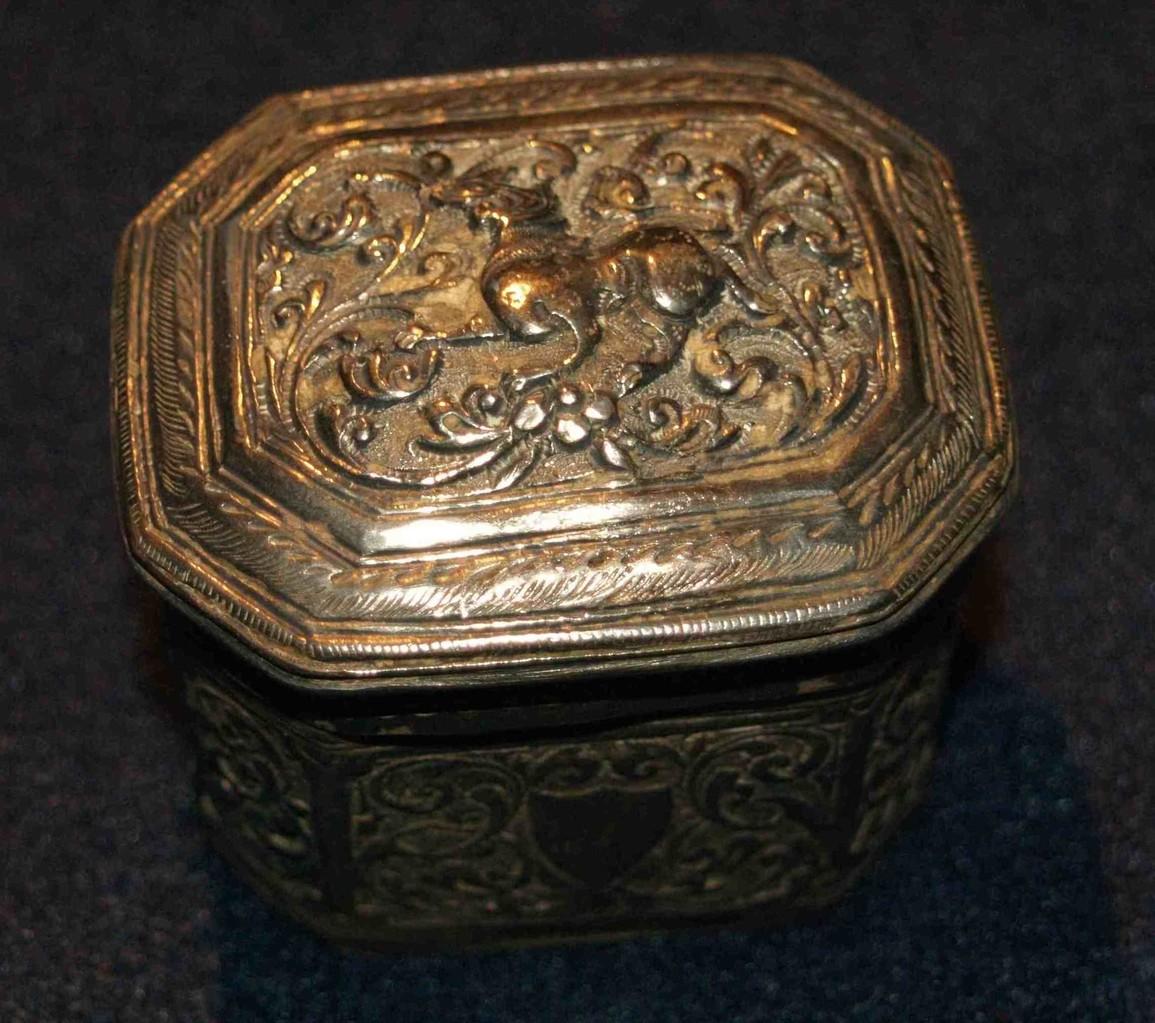 Betel-Box 55 x 50 x 45 mm