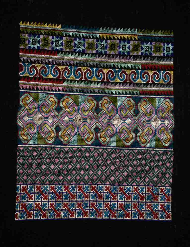 Table-Deko, Hmong-Design,