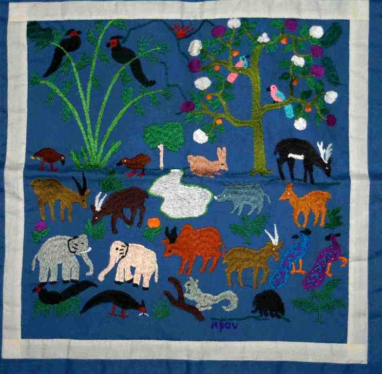 Pillow-Cover, 35 x 35 cm, Laos