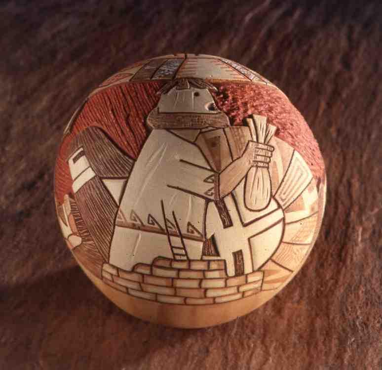 Hopi Seed Pot L. Namoki