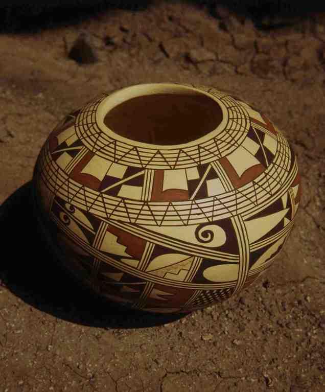 Hopi-Vase M. Silas