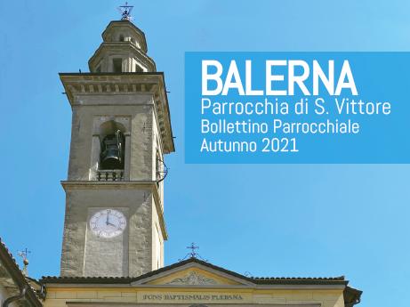 Bollettino autunno 2021 - Editoriale