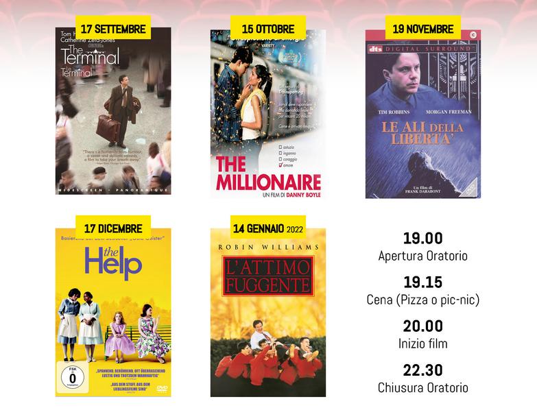 Cineforum -> CINEPIZZA
