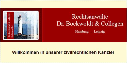 Dr. Bockwoldt Rechtsanwaltskanzlei in Eppendorf