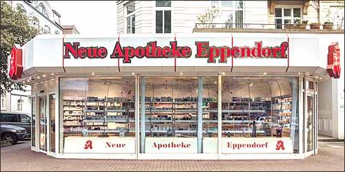 Neue Apotheke in Eppendorf
