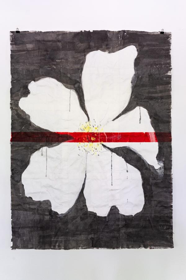 Gebrochene Geschichte II, 2020, 161 x 116 cm