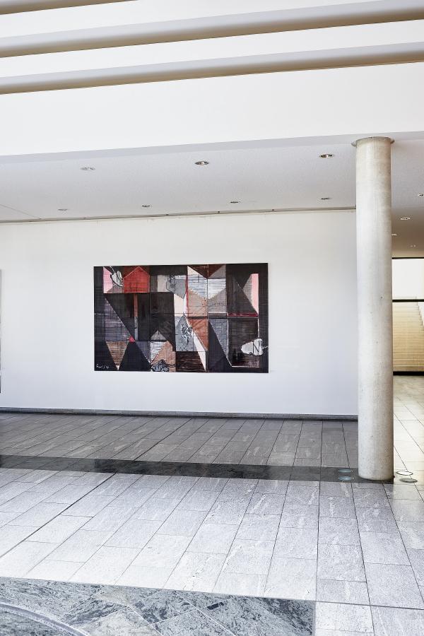 Schwarze Jahre, 2018, 180 x 300 cm