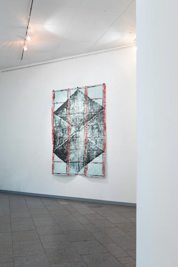 Schwarze Blüte, 2020, 170 x 120 cm