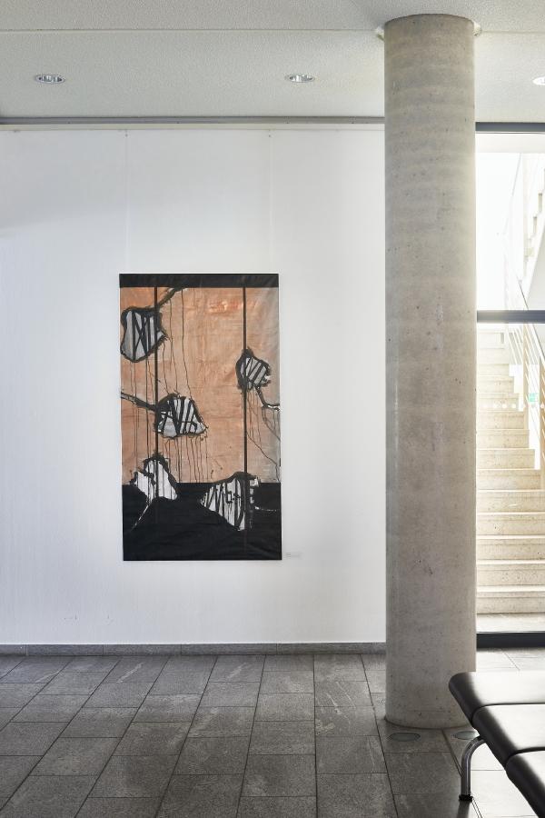 Flugblätter II, 2019, 180 x 100 cm