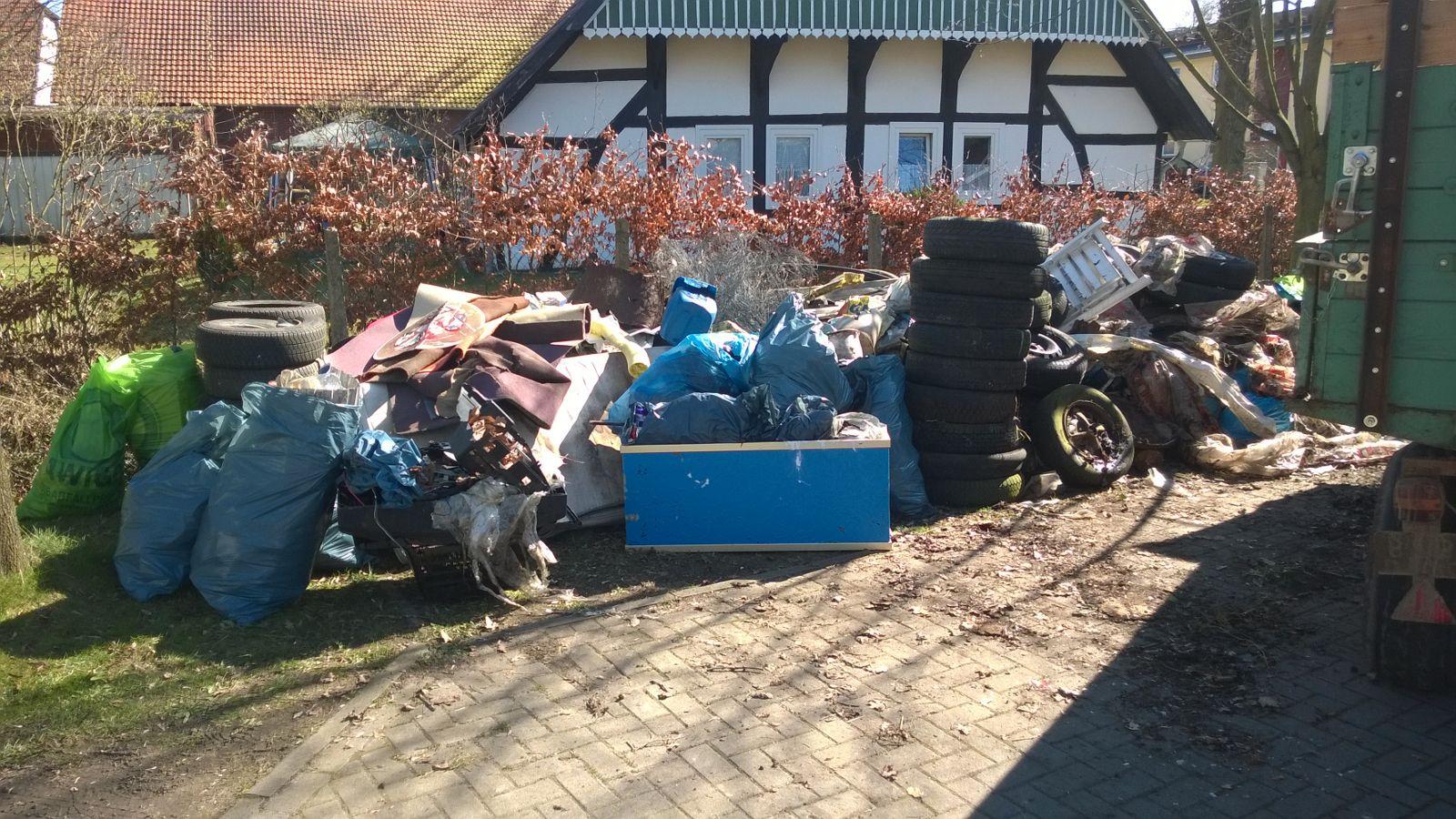 Müllsammelaktion 2017