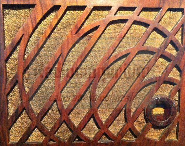 Il sasso nell'acqua ... tela e legno da Radio Safar Usignolo, Milano, 1934