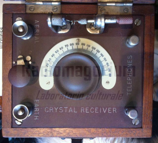 A magic cat's whisker da.... Radiola, BTH, England, 1924