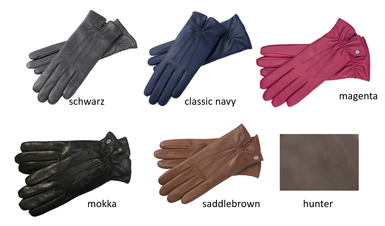 77313fa4635ec4 Roeckl Klassiker gerafft Damen Handschuhe
