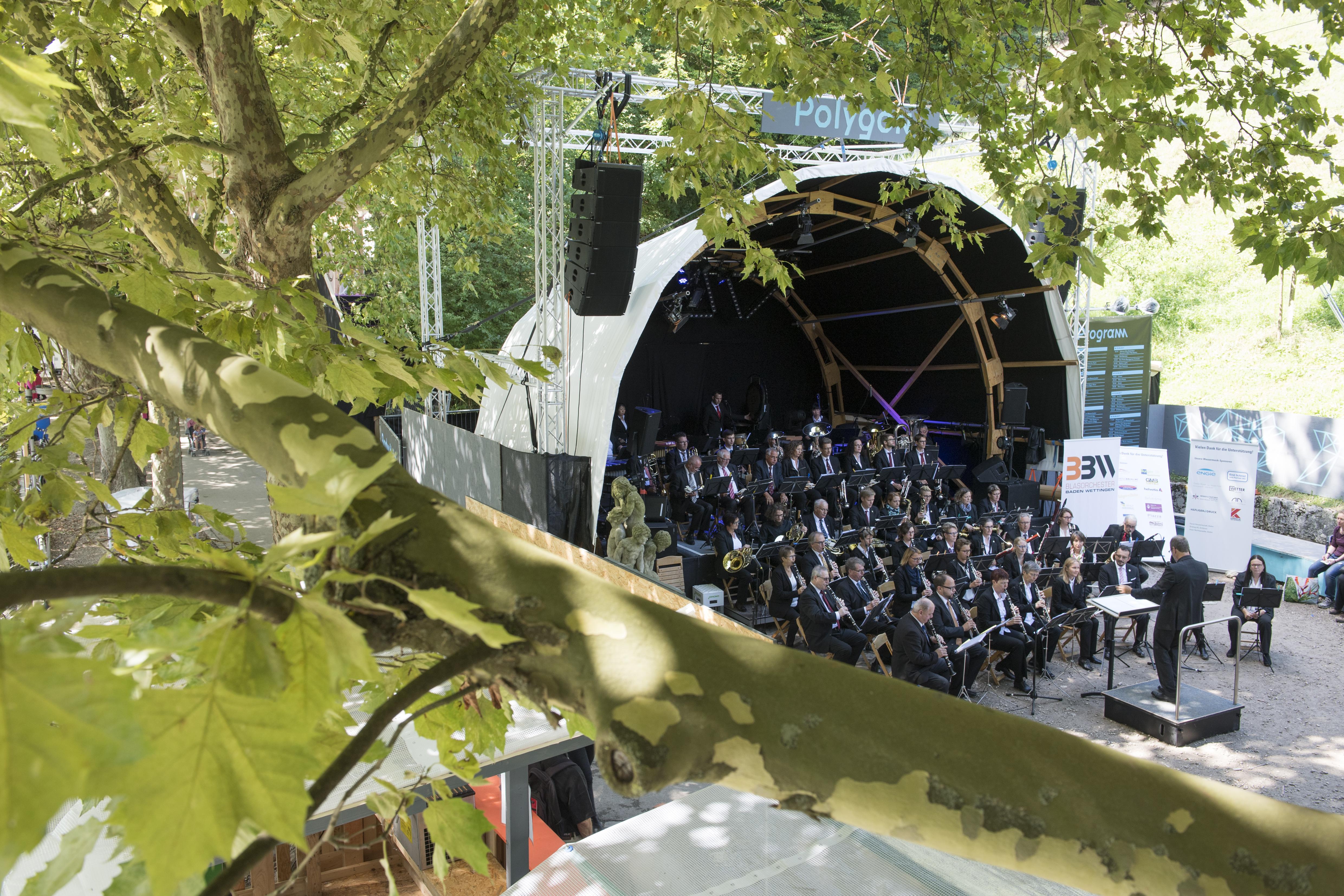 Blasorchester Baden Wettingen, Foto: Alex Spichale