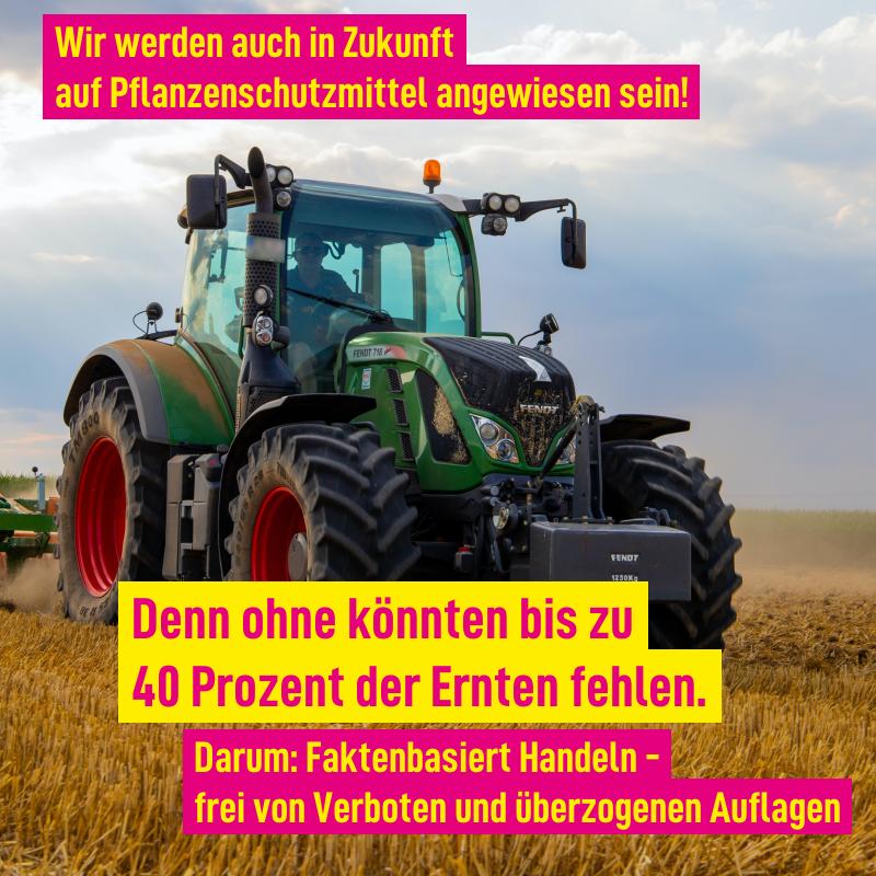 FÜR EINE STARKE LANDWIRTSCHAFT IM LÄNDLE – HEUTE UND MORGEN!