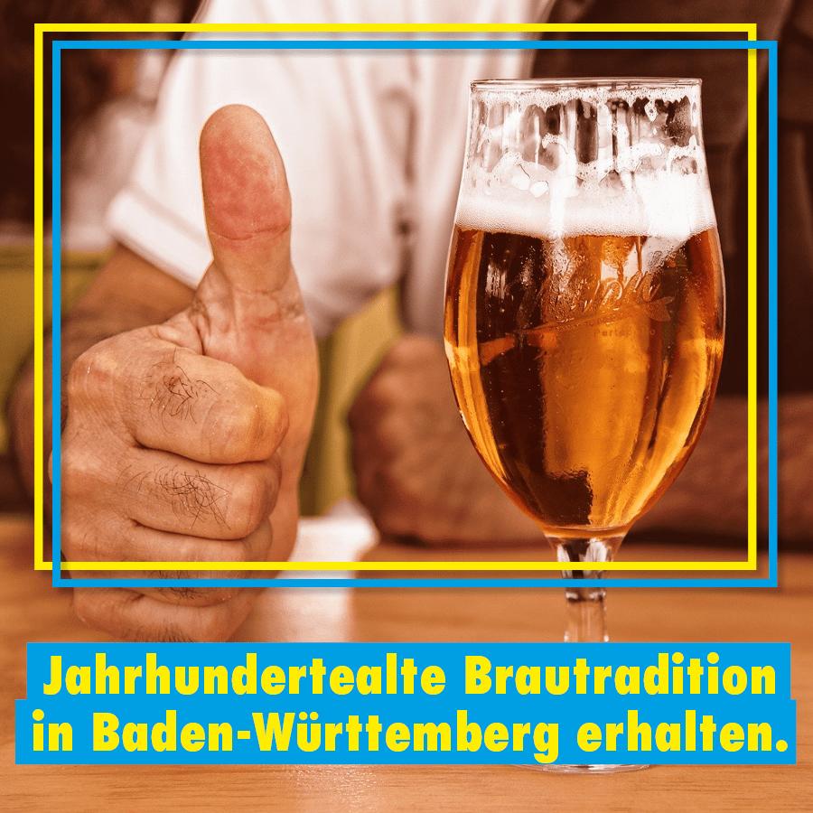 Heute ist der Tag des Bieres.