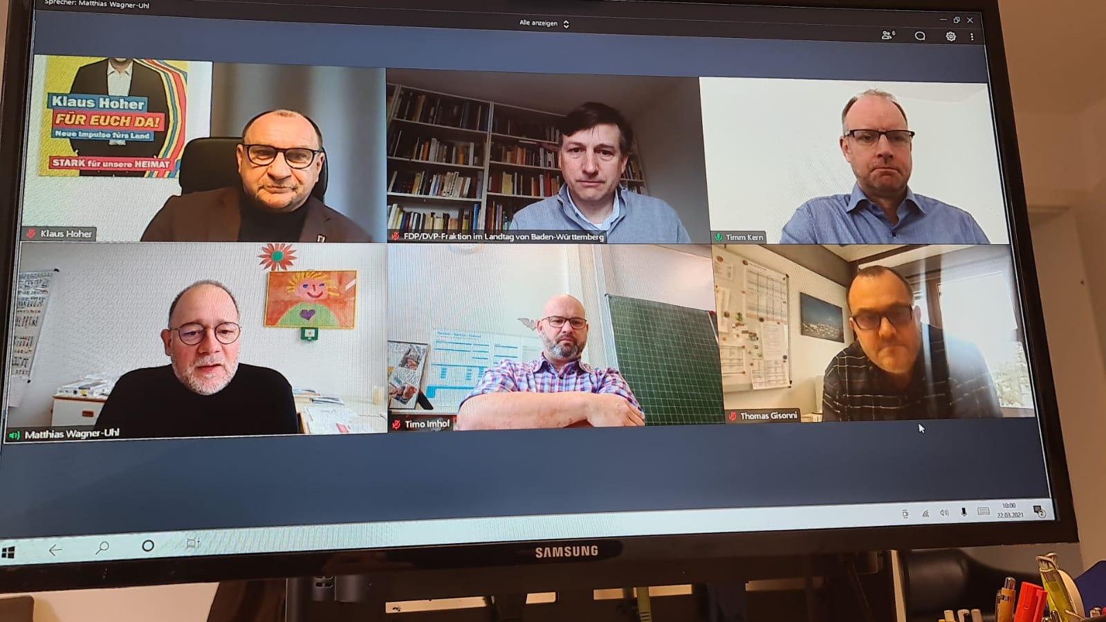 Arbeitskreis Bildung im Gespräch mit dem Verein für Gemeinschaftsschulen