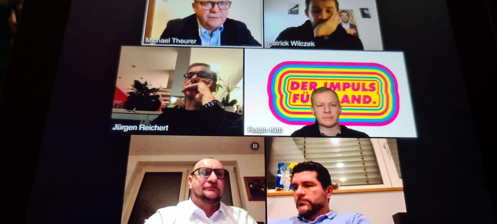 Digitales Kandidatentreffen mit Michael Theurer MdB, Judith Skudelny MdB