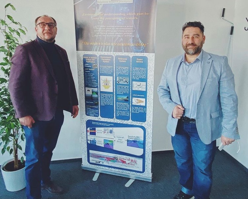 Besuch der Firma LAKE FUSION Technologies in Markdorf