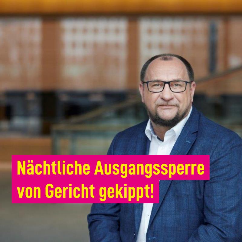 Der Verwaltungsgerichtshof Baden-Württemberg hat die nächtliche Ausgangssperre gekippt ‼