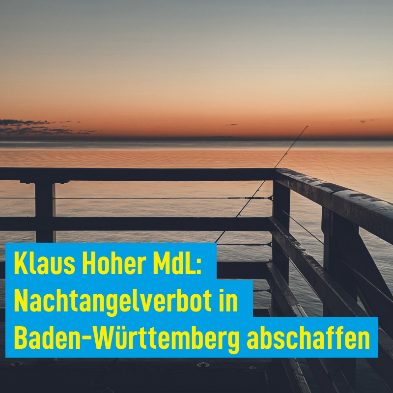 Nachtangelverbot in Baden-Württemberg