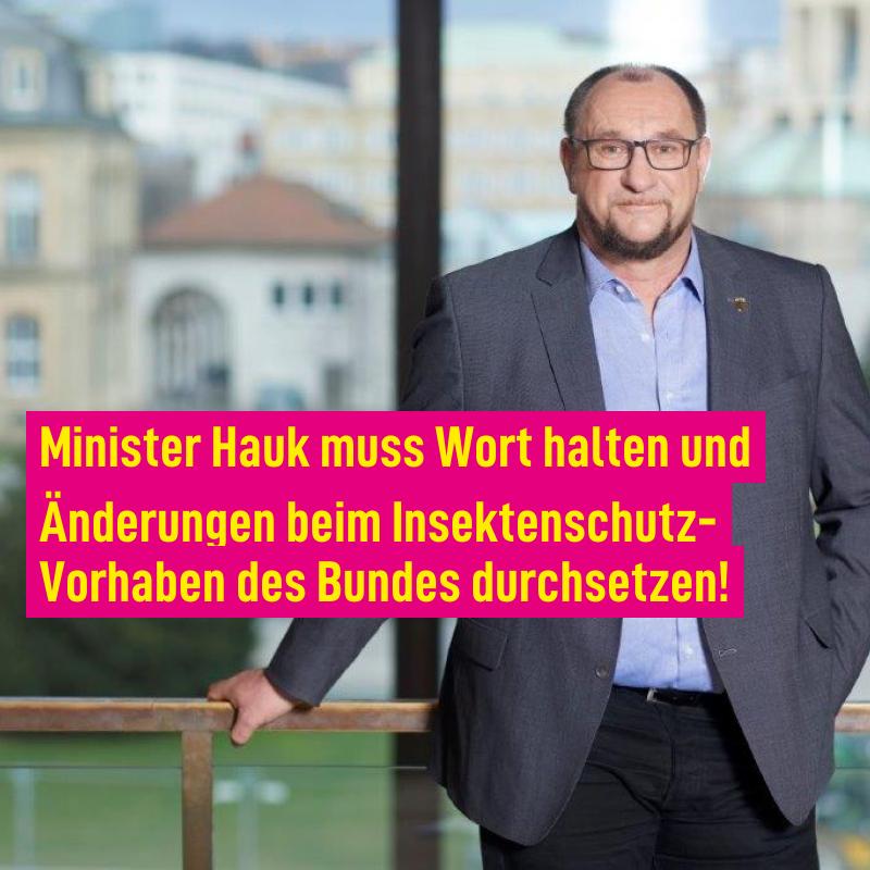 Änderungen beim Insektenschutz-Vorhaben des Bundes durchsetzen!