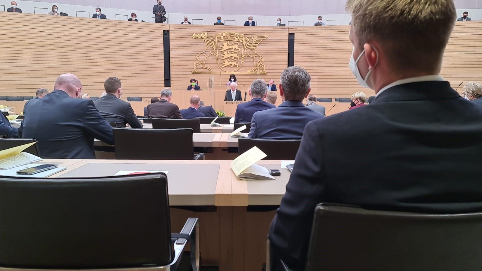 3. Sitzungstag im Landtag BW