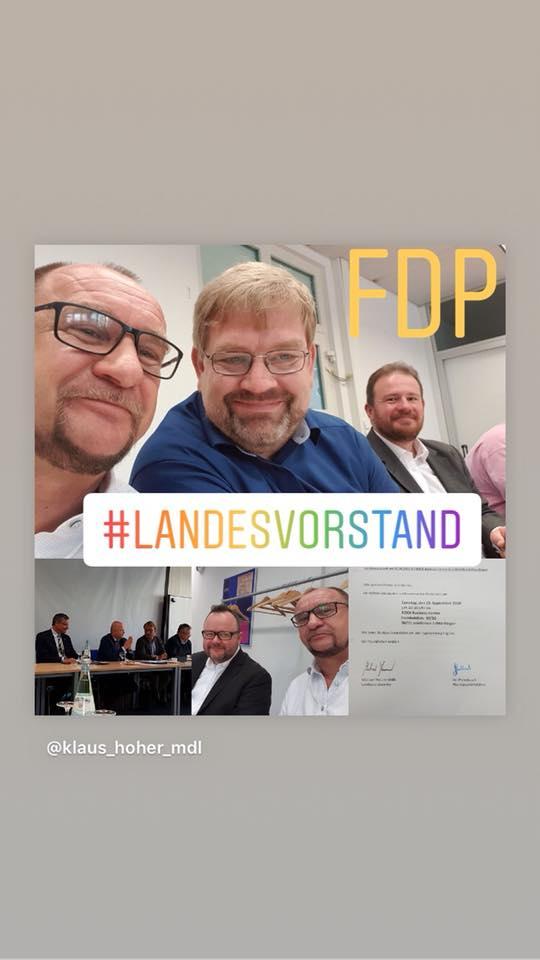 15.09.18: #landesvorstand der FDP Baden-Württemberg im ROCK Business Center mit Geschäftsführer Jan Packebusch, dem Landesvorstand und Mitgliedern des Bundes- und Landtags. #klaushoher #fdpbw
