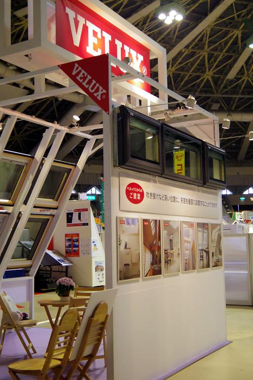 北海道ホームビルダーズショー2012/日本ベルックス様ブース