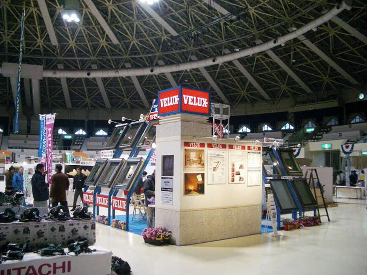 HOKKAIDOホームビルダーズショー2005/日本ベルックス様ブース