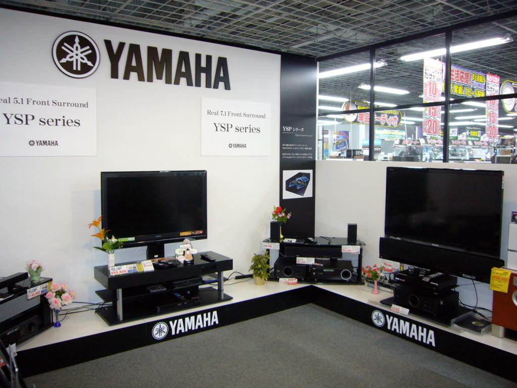 ヤマハエレクトロニクスマーケティング(株)様ブース/ヨドバシカメラマルチメディア札幌