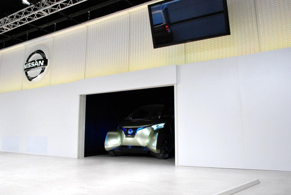 2012札幌モーターショー日産自動車ブース