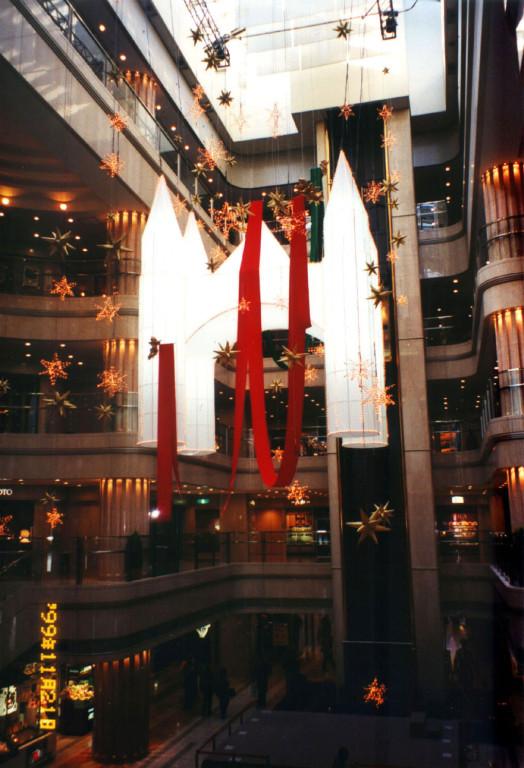 羽田空港ターミナル BIGBIRD/クリスマス装飾