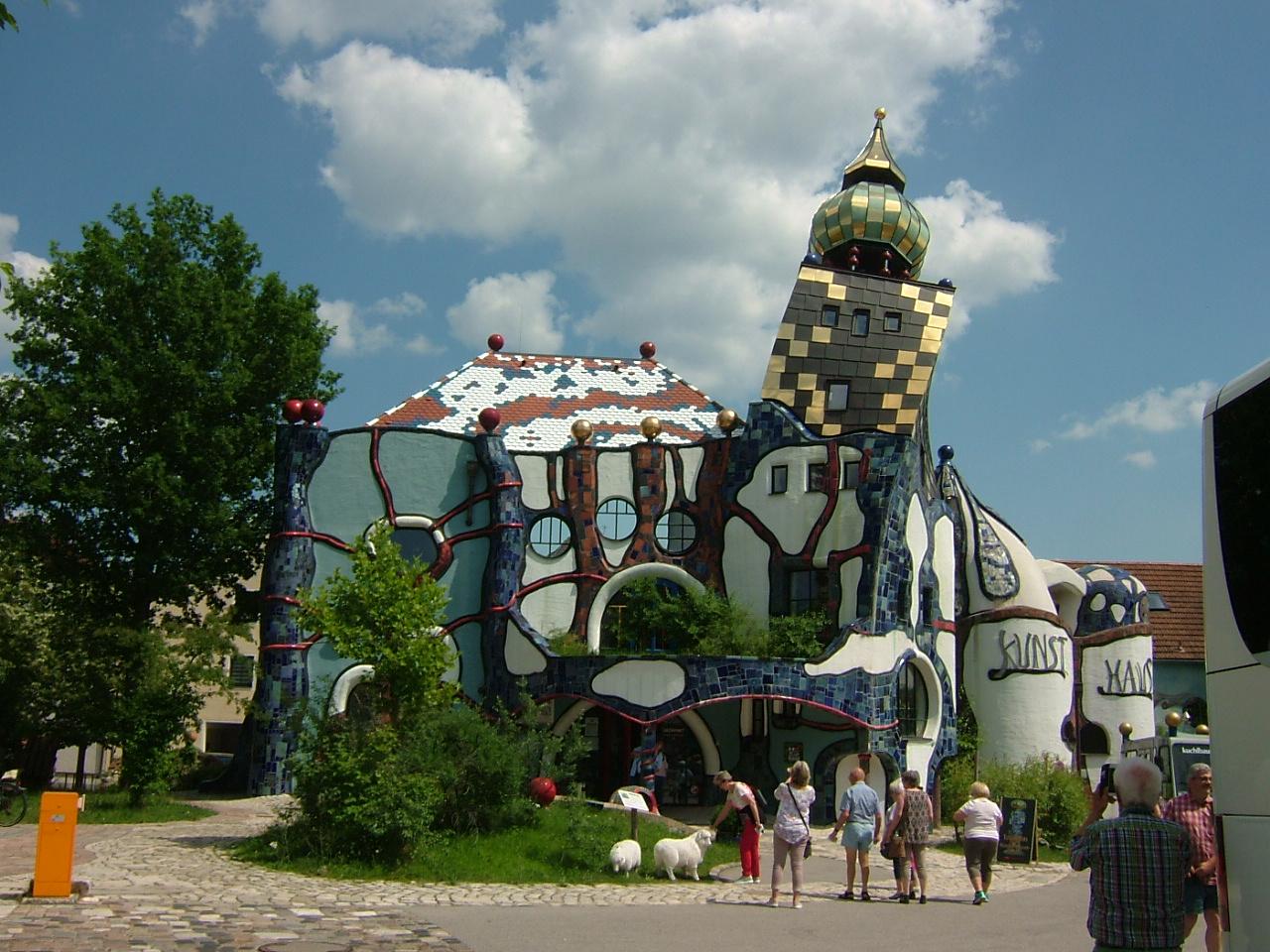 Das Hundertwasser-Kunsthaus und Museum
