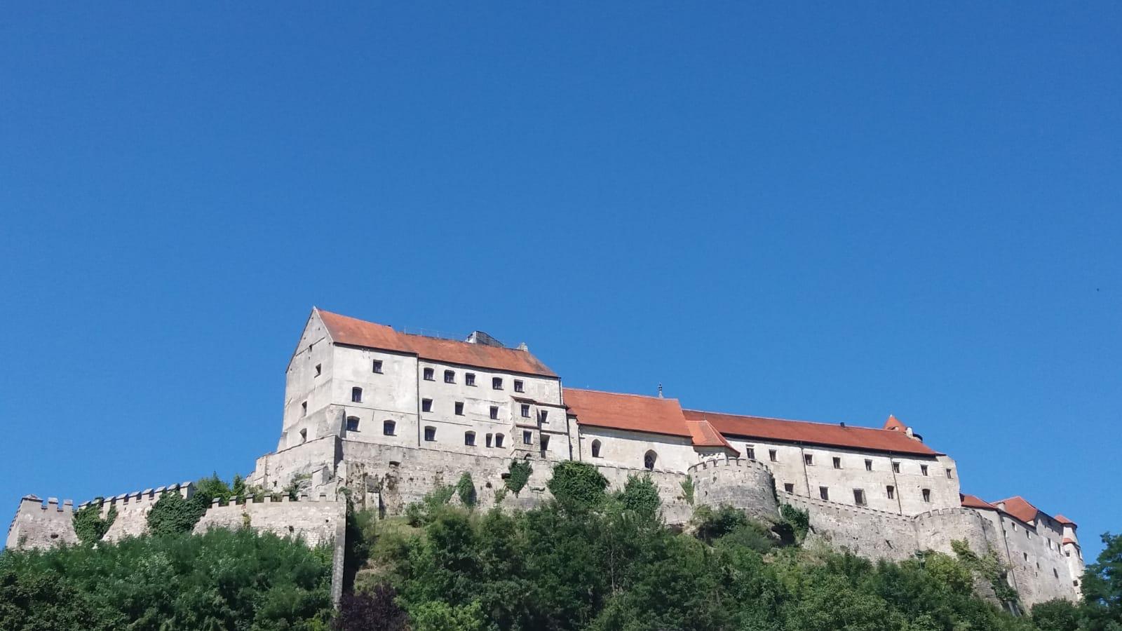 Teilansicht der Burg