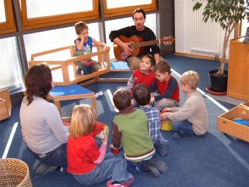 Musizieren in der Gruppe