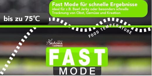 sedona express fast modus programm