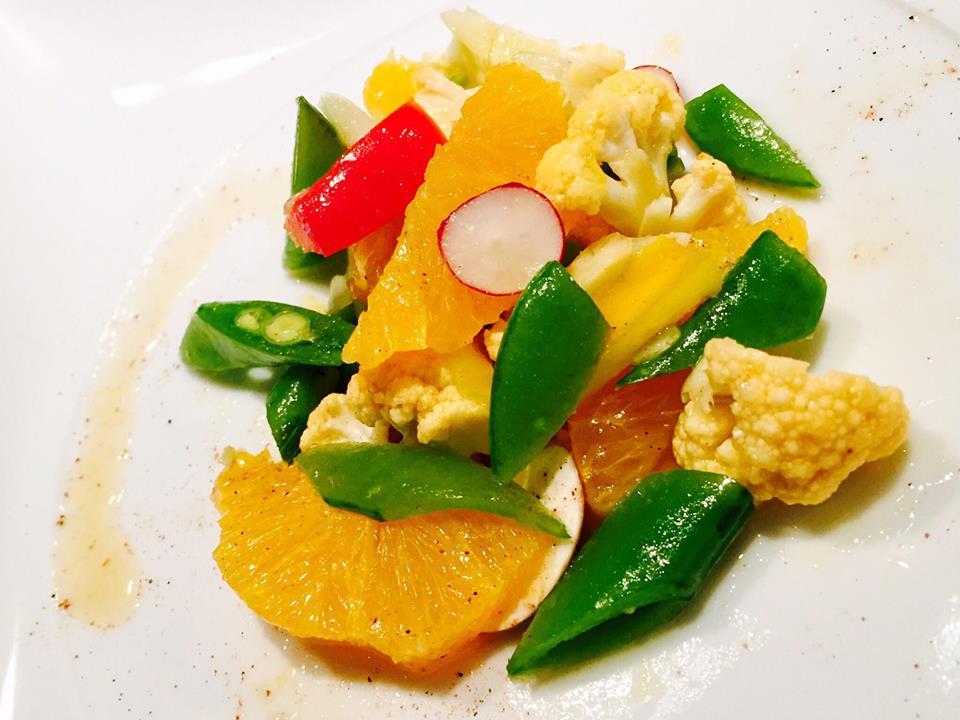 イロイロ野菜とオレンジのRawハニーマリネ