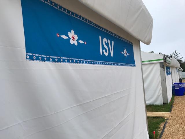 das ISV Zelt