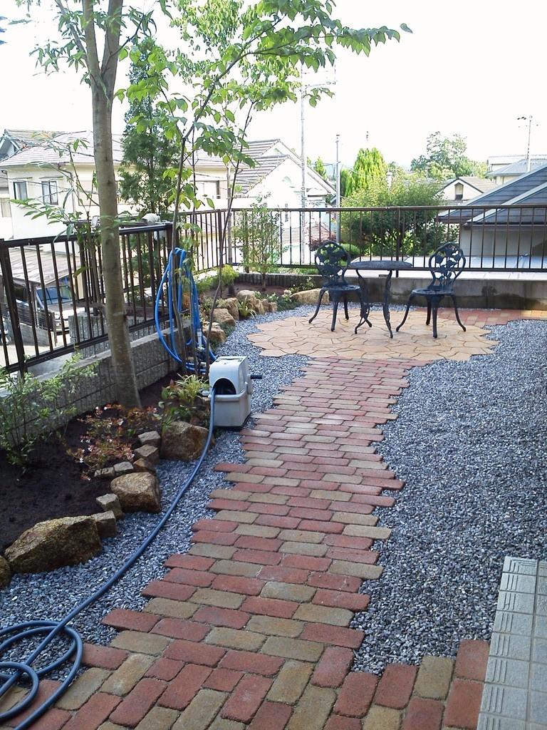 庭園改修工事@奈良県生駒市
