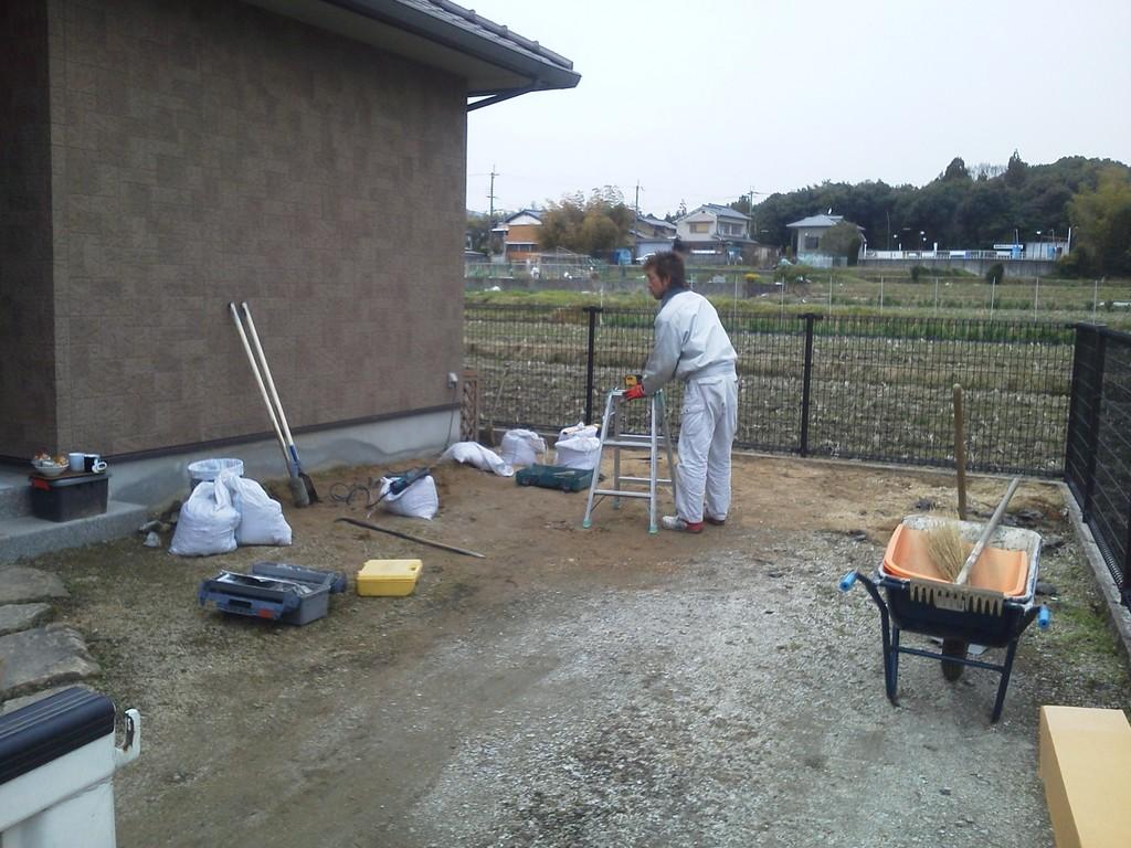 エクステリア吐田さんによるカーポート施工 造園・外構・エクステリア工事@奈良県北葛城郡広陵町