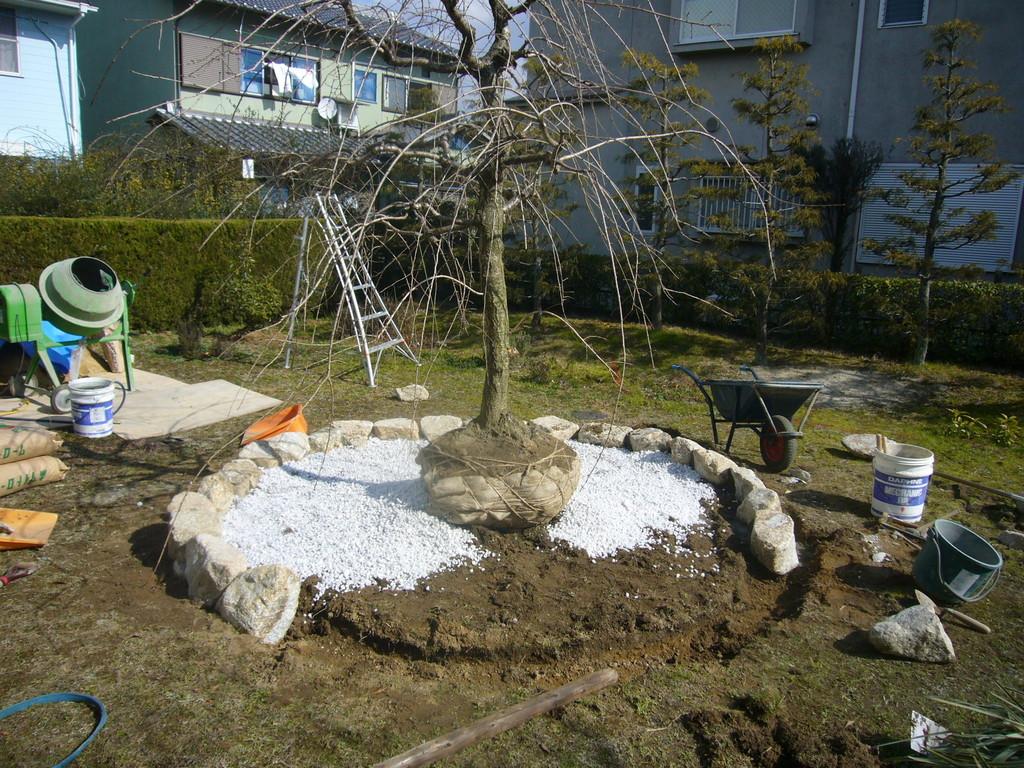 土壌改良剤混入