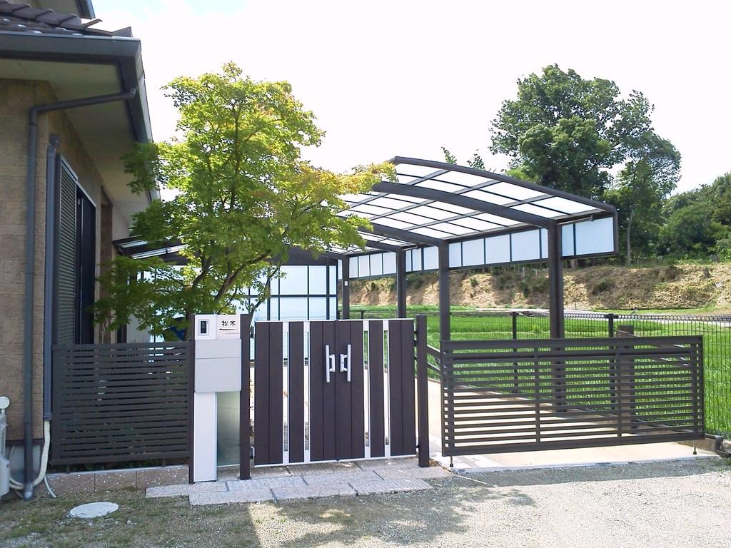 完了 造園・外構・エクステリア工事@奈良県北葛城郡広陵町